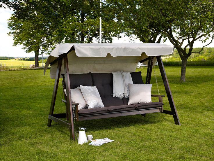 kornhult hammock furu med hjul trädgårdsmöbler
