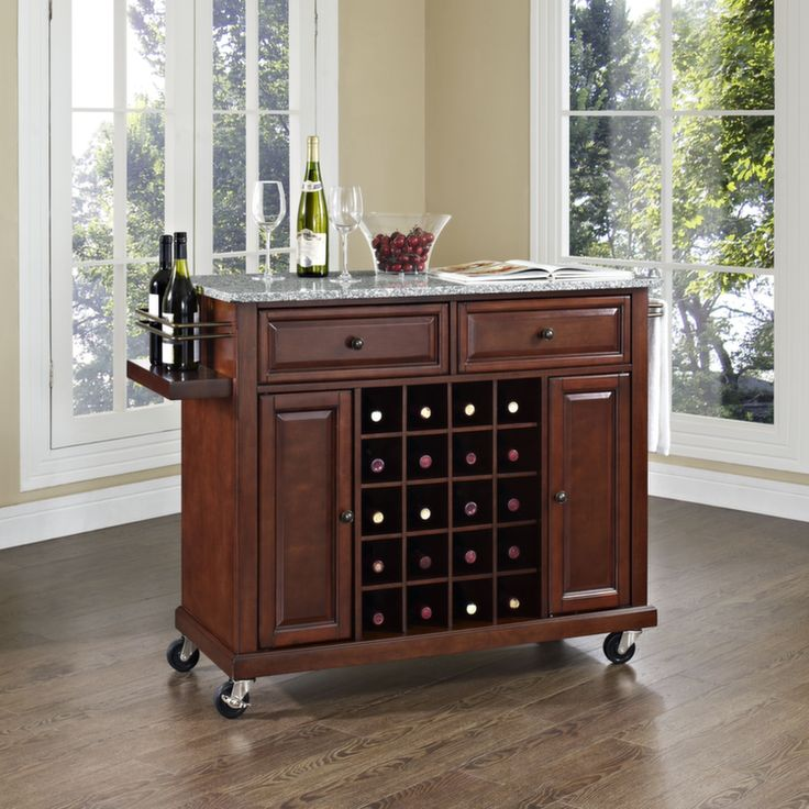 Best RTA Kitchen Islands And Carts Images On Pinterest - Crosley kitchen island cart natural wood top