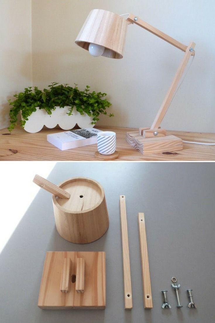 How To Make A Scandinavian Wood Lamp Id Lights Wooden Lamp Wood Lamp Design Wood Lamps
