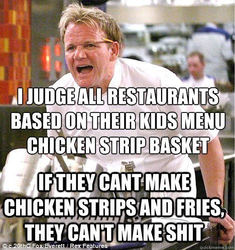 Ramsay S Kitchen Nightmare Puns
