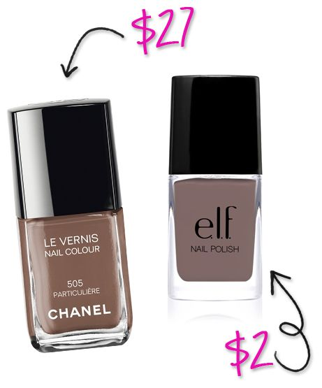 Splurge vs Steal: ELF Makeup Dupes You Can't Resist. While you might need an extra coat of the ELF, you won't be able to tell it apart from the Chanel