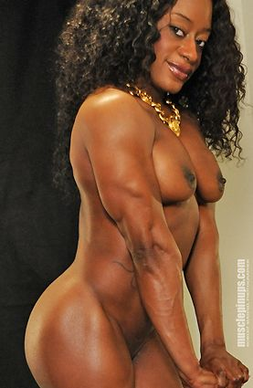 Black women bodybuilder porn