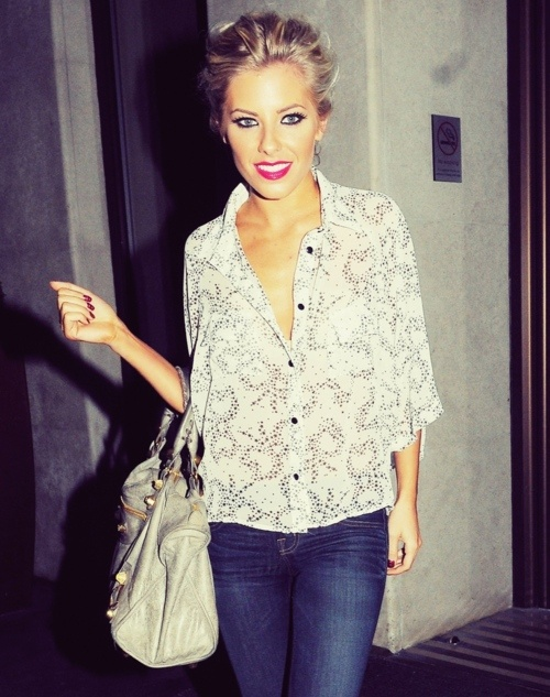 Mollie King style.
