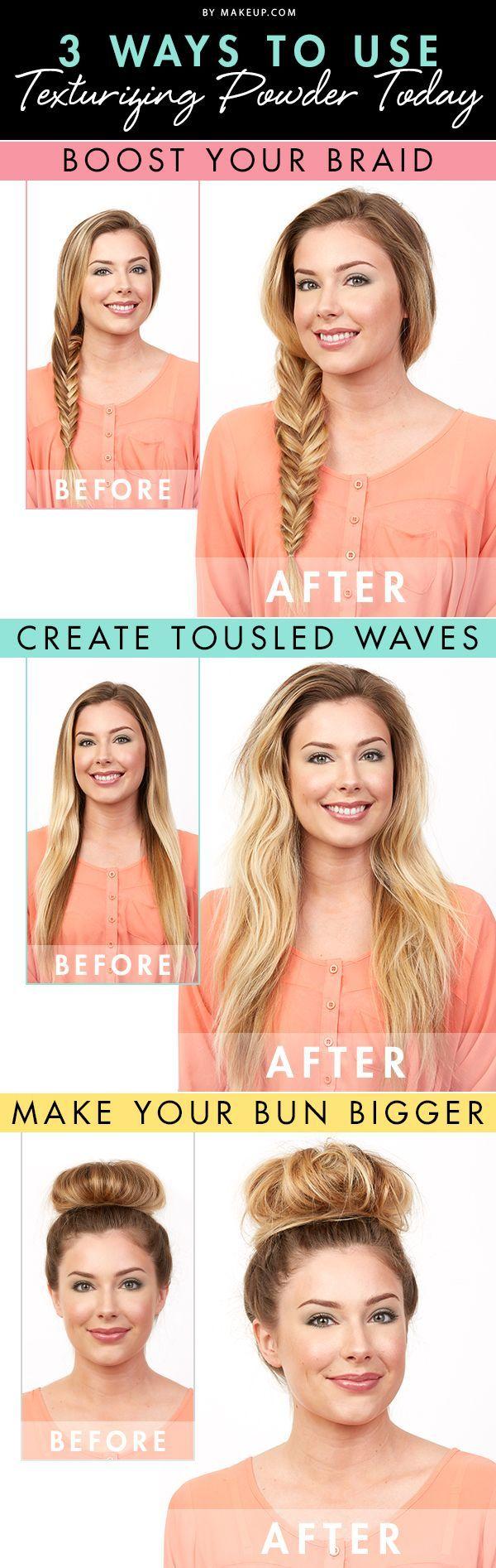 The secret to va-va-voom hair? Texturizing powder!