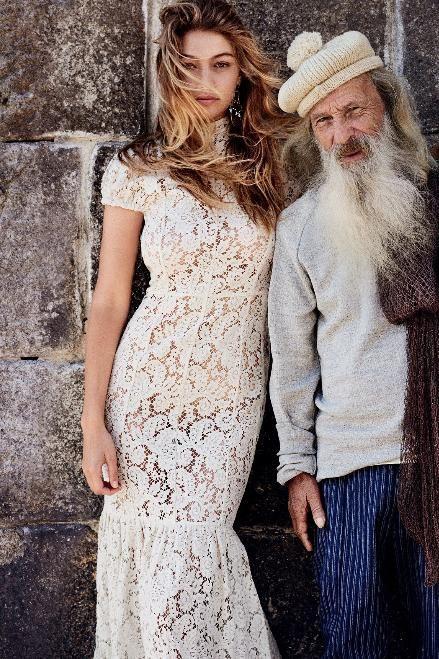Gigi Hadid wearing Victoria Beckham Resort 2016 Dress