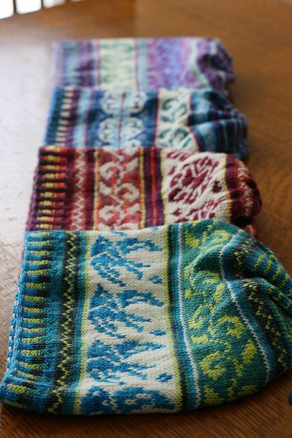130 best Colorwork/Stranded Knitting images on Pinterest | Dirndl ...