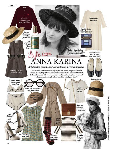 French Cinema, Anna Karina