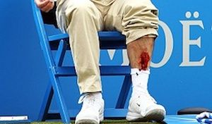 David Nalbandian Kicked A Line Judge And Made Him Bleed