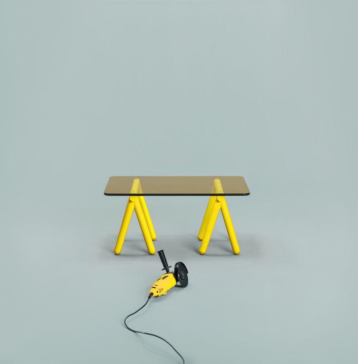 Table Basse Treteaux Alors D Co Ou Boulot Id Es Pour La Maison Pinterest Tables