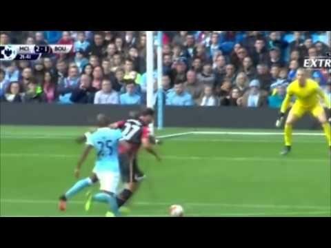 Манчестер Сити 5-1 Борнмут.Премьер лига   Тур -9