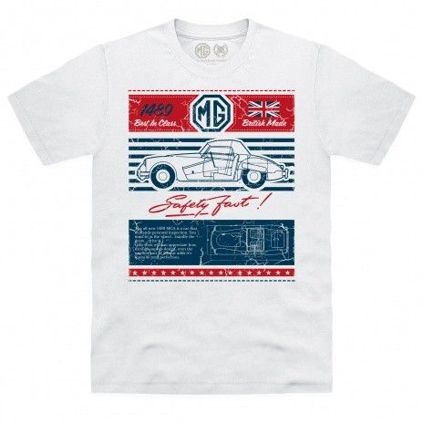 Official MG - MGA 1489 Organic T Shirt