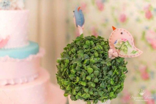 decoracao infantil aniversario passarinhos