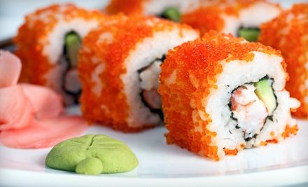 Sushi and Chinese Food at Jesse Wong's Kitchen (Up to 51% Off). Two Options Available.. Groupon deal price: $20.00