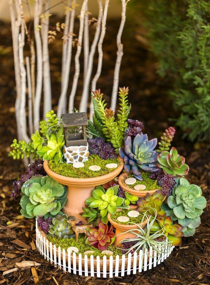 miniaturas 24 ideas de jardines en miniatura mgicos espaa chatrealty