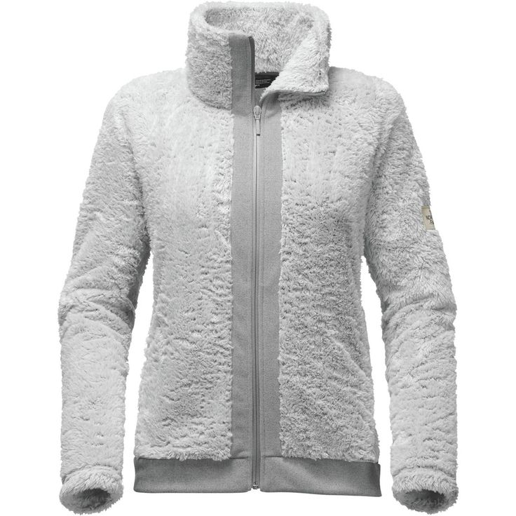 The North Face - Furry Fleece Jacket - Women's - High Rise Grey