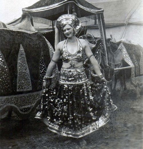 Circus Lady, 1930 - (photographer unknown)