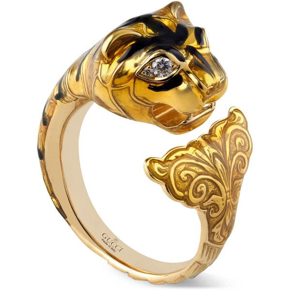 Amazing Gucci Le March Des Merveilles Ring liked on Polyvore featuring jewelry