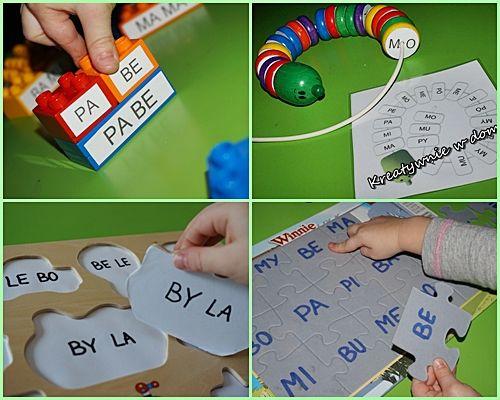 Drugie życie zabawek - nauka czytania przez zabawę | Kreatywnie w domu