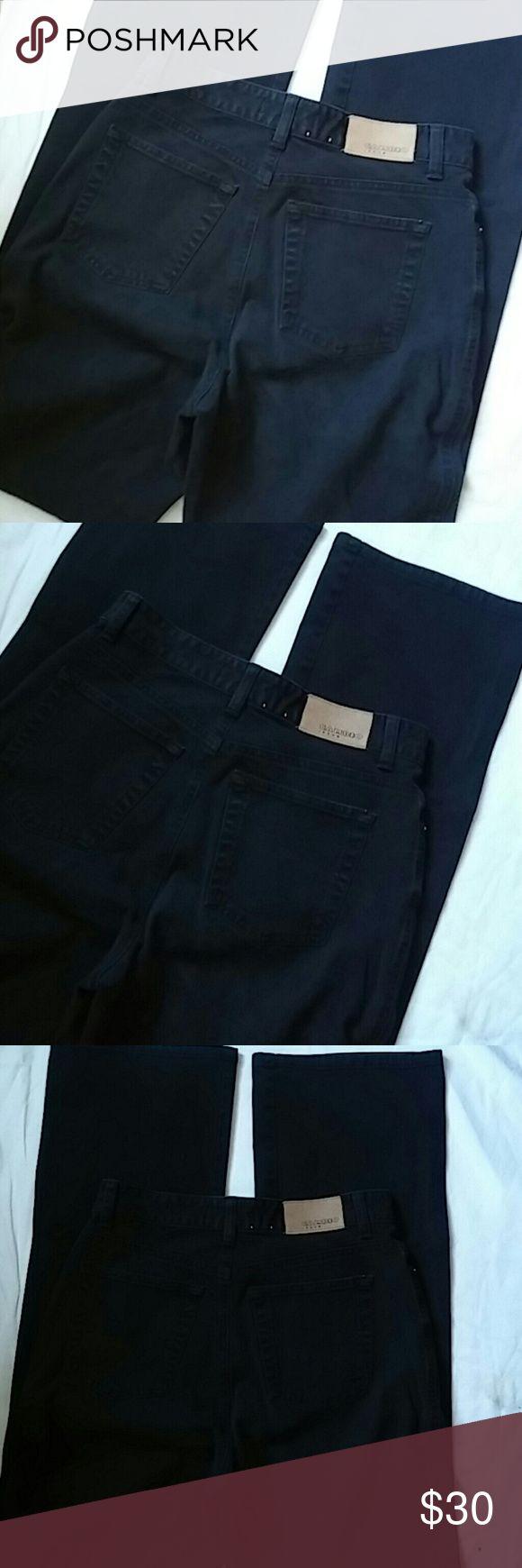 Cambio Jade Jeans Sz 4 Made in Tunisia ..Black Cambio Jeans Straight Leg