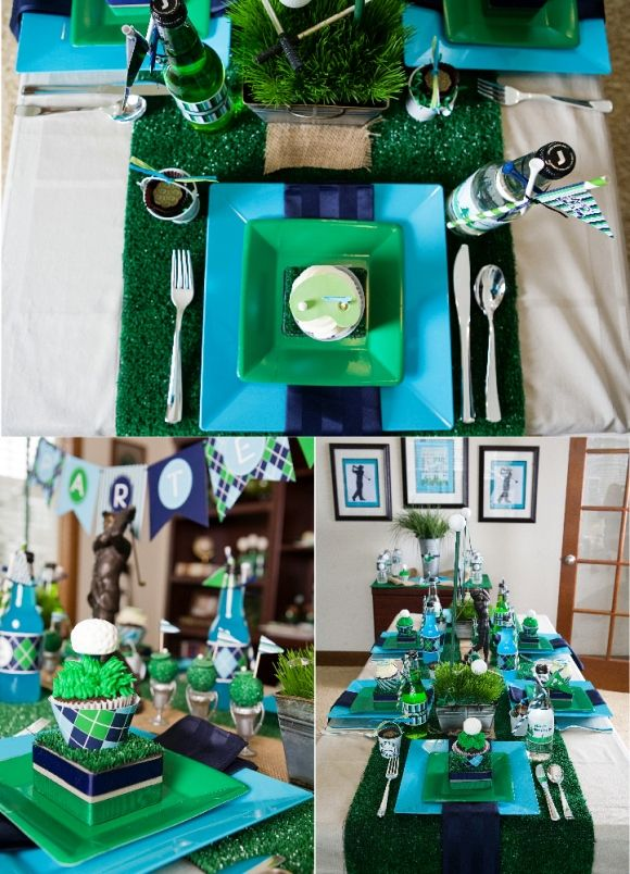 Fatheru0027s Day Party Ideas & 134 best golf themed party images on Pinterest | Menu0027s cards ...