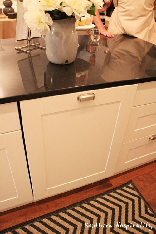 ikea cabinet door cover for dishwasher