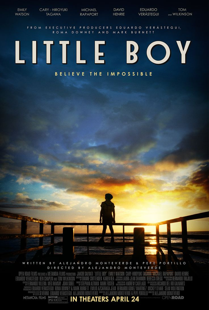 Read more about this BRAND NEW and WHOLESOME family movie called Little Boy! #LittleBoyMovie #BH #ad