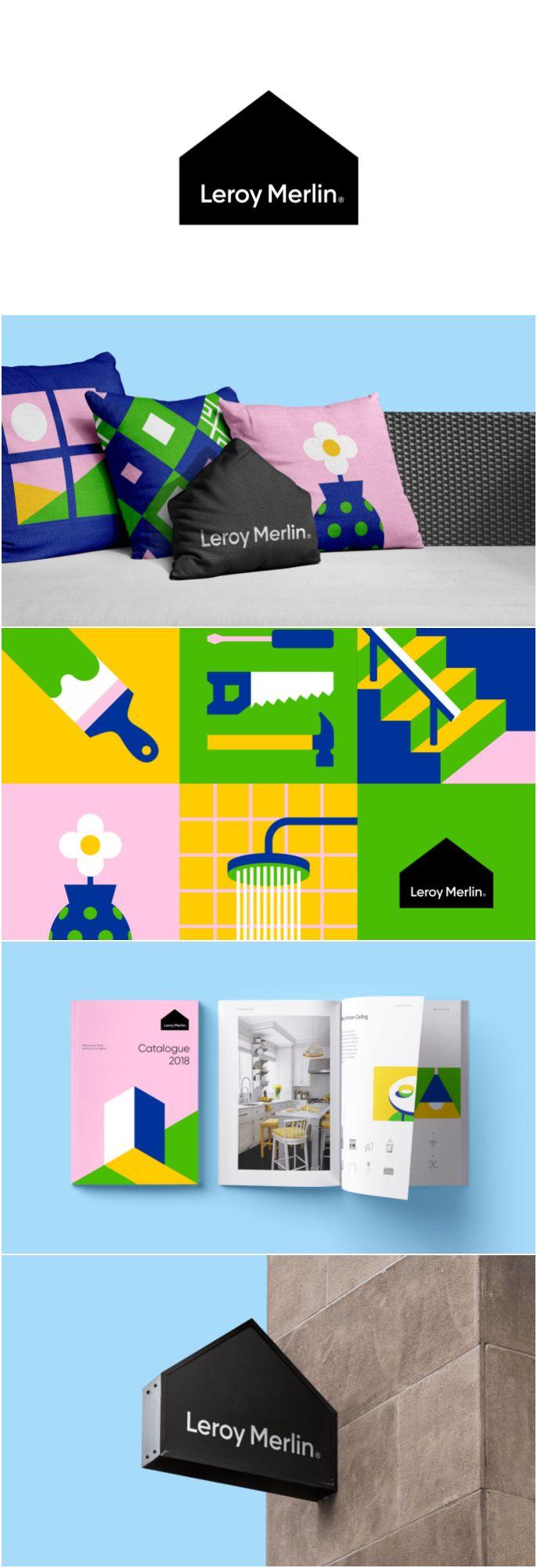 Rebranding Freelancer Concept For French International Retailer Leroy Merlin World Brand Design Rebranding Branding Design Brand Packaging