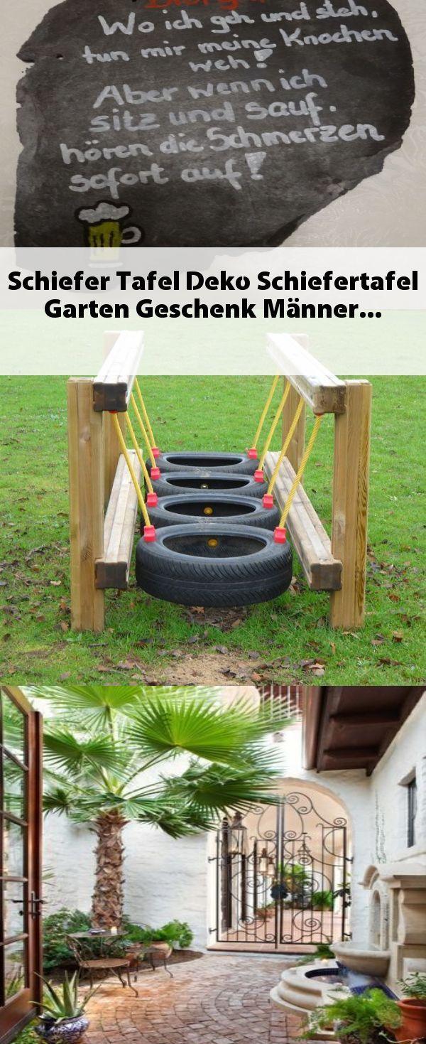 Schiefer Tafel Deko Schiefertafel Garten Geschenk Manner Schiefertafel Schiefer Deko