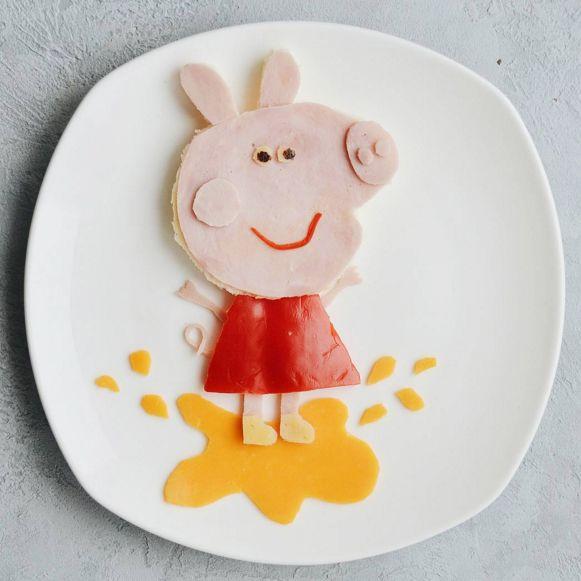 10способов превратить детский завтрак вмультфильм натарелке