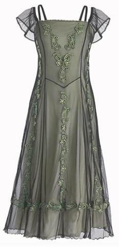 Celtic dress - I have fallen in love with this - so pretty!!