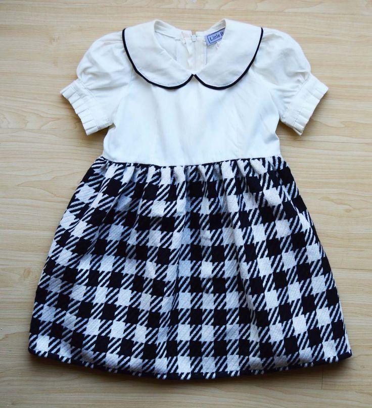Classic cream and black dress