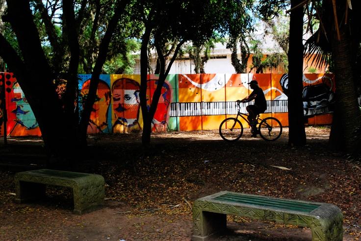 Biking in Porto Alegre