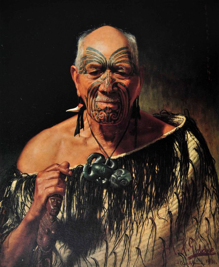 """Patara Te Tuhi: an old warrior"" Painting by  Charles Frederick Goldie ..   His story is interesting ....  I thank him for recording the "" Ta Moko""  what ever his reasoning!"