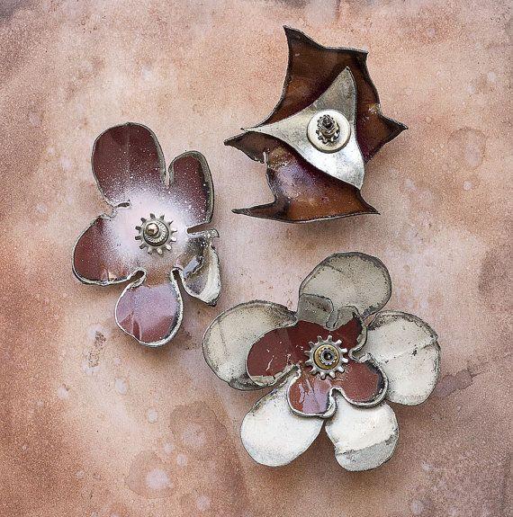 Metal Wall Flowers 125 best bloom again metal art images on pinterest | metal artwork