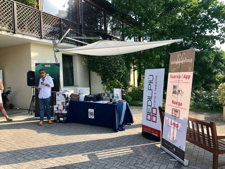 Edilpiù - Porte e finestre | La postazione relax di Edilpiù al Milano Marittima Life Golf Cup - Edilpiù - Porte e finestre