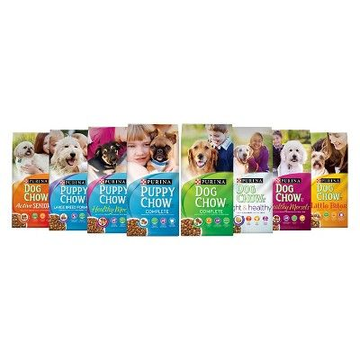 Purina Dog Chow Healthy Morsels - Dry Dog Food - 16.5lb Bag