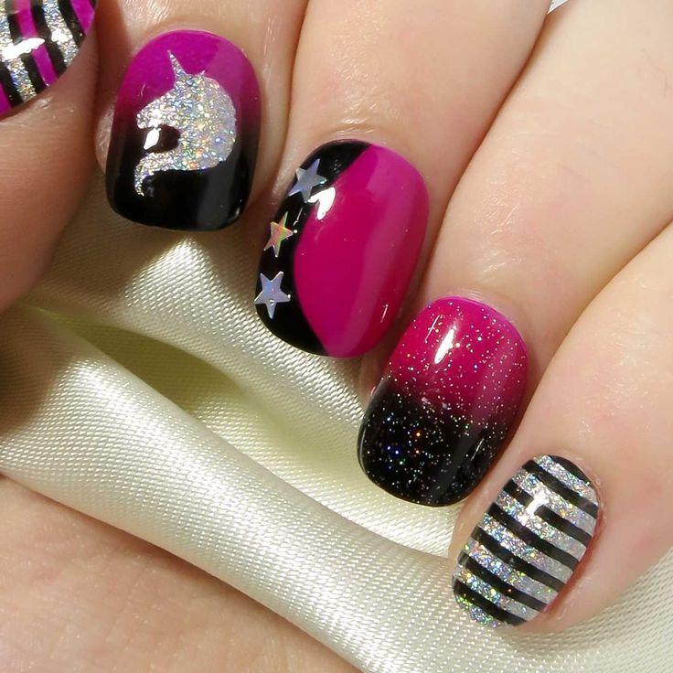 Mejores 9 imágenes de Nails en Pinterest | Uñas bonitas, Uñas de gel ...