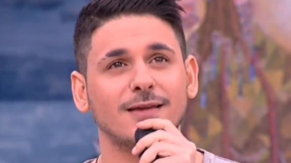 Ο νεαρός pop star ήταν καλεσμένος στην εκπομπή