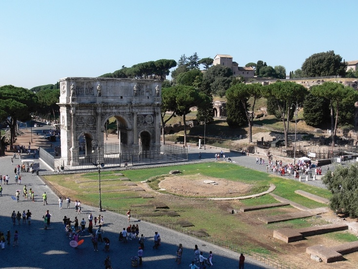 The Arch of Constantine in Rome, #Italy #travel. Royal Caribbean Cruise Lies. Contact rick@rlstravel.com for more information and to book that cruise.