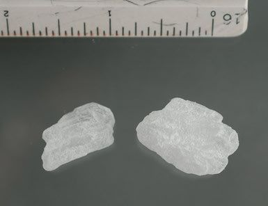 Everything You Need to Know About Crystal Meth: Crystals of the drug methamphetamine (crystal meth).