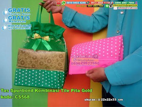 Tas Spunbond Kombinasi Tile Pita Gold Hub: 0895-2604-5767 (Telp/WA)tas spunbond,tas spunbond murah,tas spunbond unik,tas spunbond grosir,grosir tas spunbond murah,souvenir bahan spunbond,souvenir tas spunbond,souvenir pernikahan tas spunbond,jual souvenir tas spunbond,jual tas spunbond,jual tas spunbond murah  #jualtasspunbond #tasspunbondunik #tasspunbondgrosir #souvenirpernikahantasspunbond #jualtasspunbondmurah  #souvenirtasspunbond #grosirtas