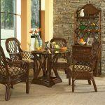 14 Adorable Wicker Dining Room Furniture Design Idea