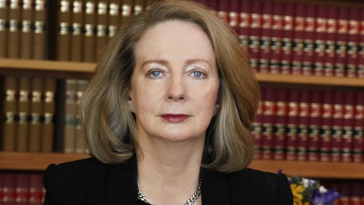 """The story of Susan Kiefel, Australia's first female chief justice, has been described as an """"inspiration""""."""