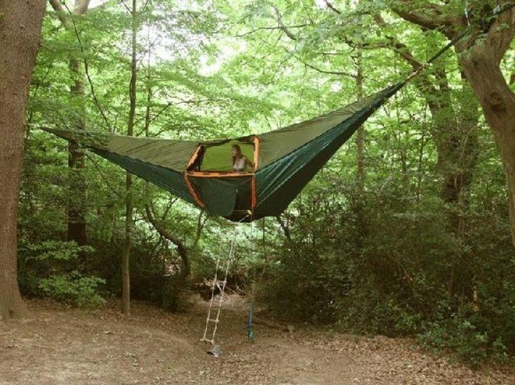 A Tree House Hammock