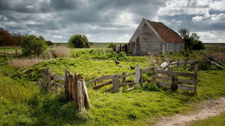 Het meest gefotografeerde boetje van Texel. Een boet is een soort schuur uit vervlogen tijden van schapenhouders.