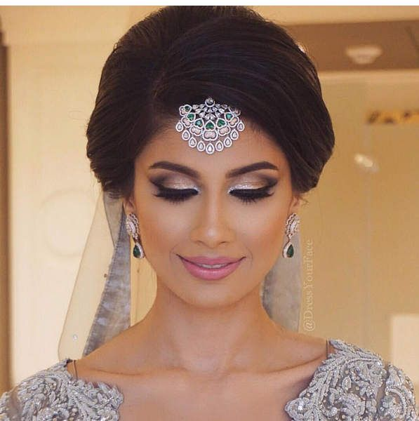 The 25 Best Indian Wedding Hairstyles Ideas On Pinterest Bridal Hairstyle And Stani Hair Updos