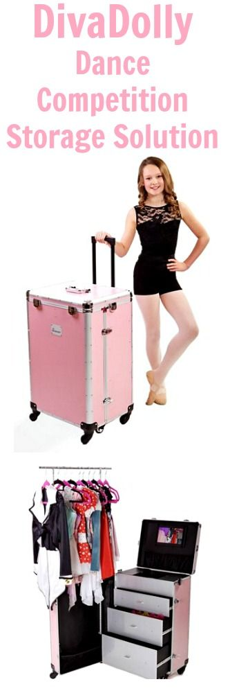 DivaDolly Dance Competition Storage Solution