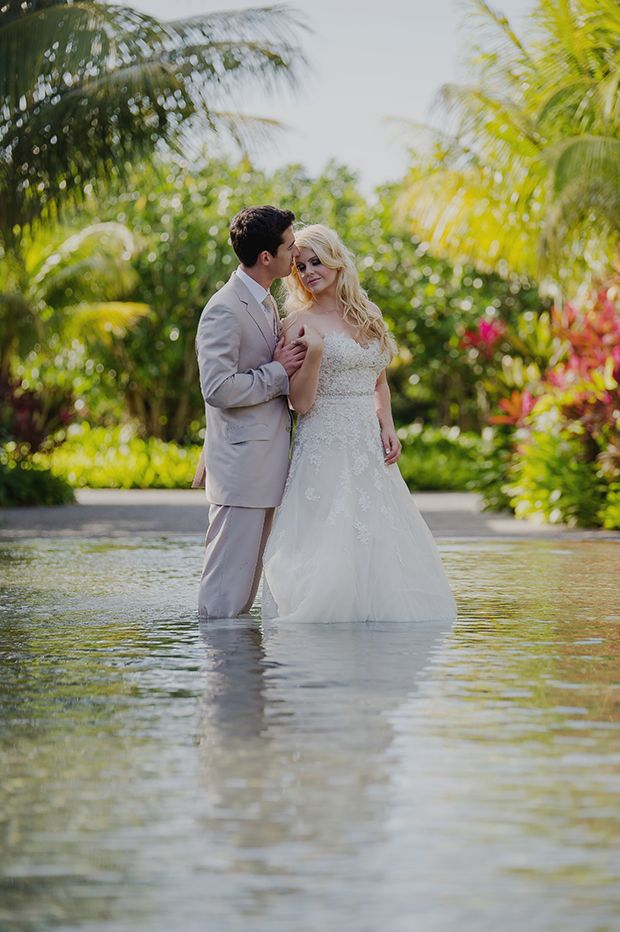 An Intimate, Tropical Beach Wedding in Mauritius: Nelda & Wesley