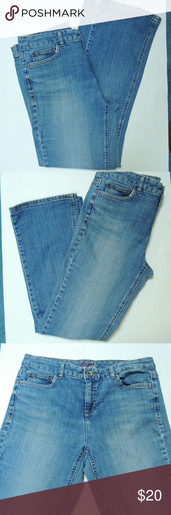 1 day sale.  Tommy Hilfiger hope bootcut jeans Boot cut Tommy Hilfiger jeans size 10short Tommy Hilfiger Jeans Boot Cut