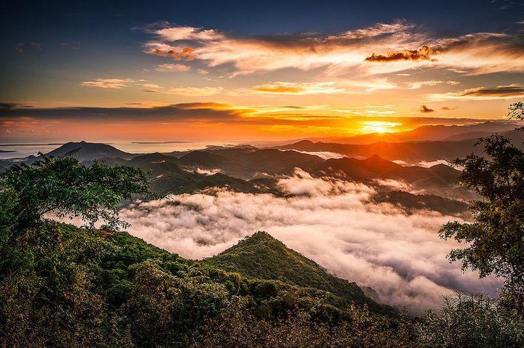 Sunrise at Mantar Village - Sumbawa  Photo Ahmed Syukaery